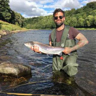 A Perfect Autumn Tay Salmon