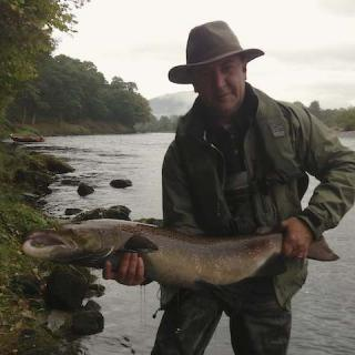 Autumn River Tay Cock Salmon