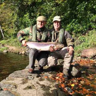 Autumn Salmon Ghillie River Tay