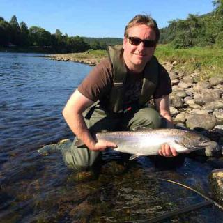 Autumn Salmon On The Fly