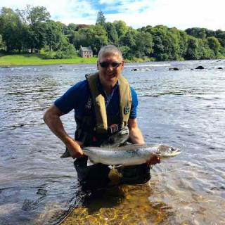 Fly Fishing Success On The River Tay