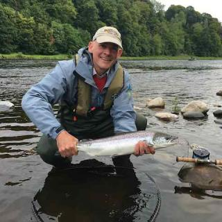 George Clarke 5th Salmon