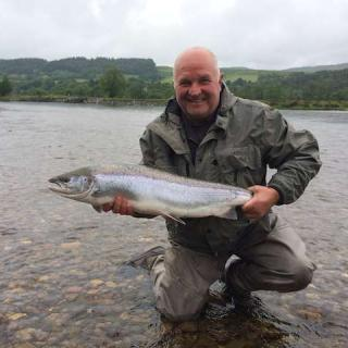Guided Fly Fishing On The River Tay
