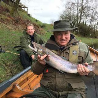 Guided Salmon Fishing Service