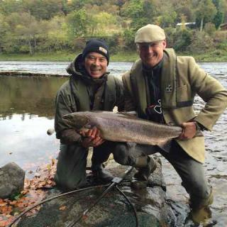 Jock Monteith Salmon Guide Service