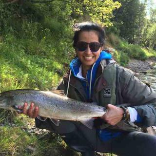 Salmon Fishing For Lady Anglers