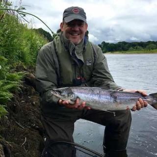 Salmon On The Tay
