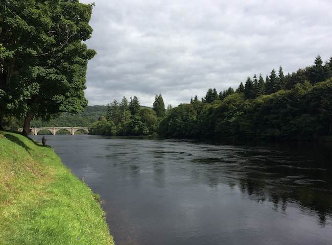 Dunkeld House Salmon Fishing river tay