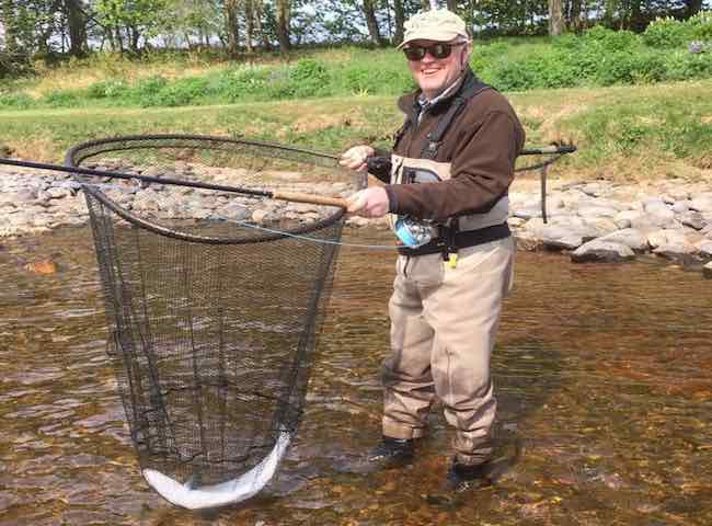 River Tay Guided Salmon Fishing Success