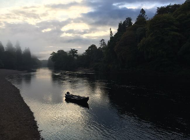 River Tay Salmon Fishing .