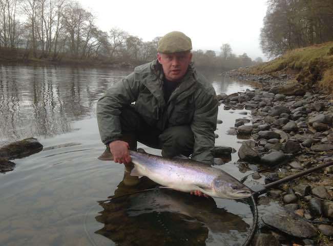 Salmon Fishing River Conditions