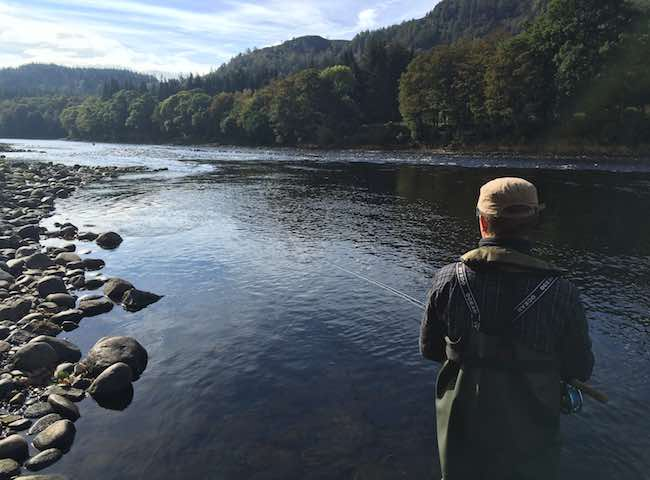 Tuition On Salmon Rivers Of Scotland